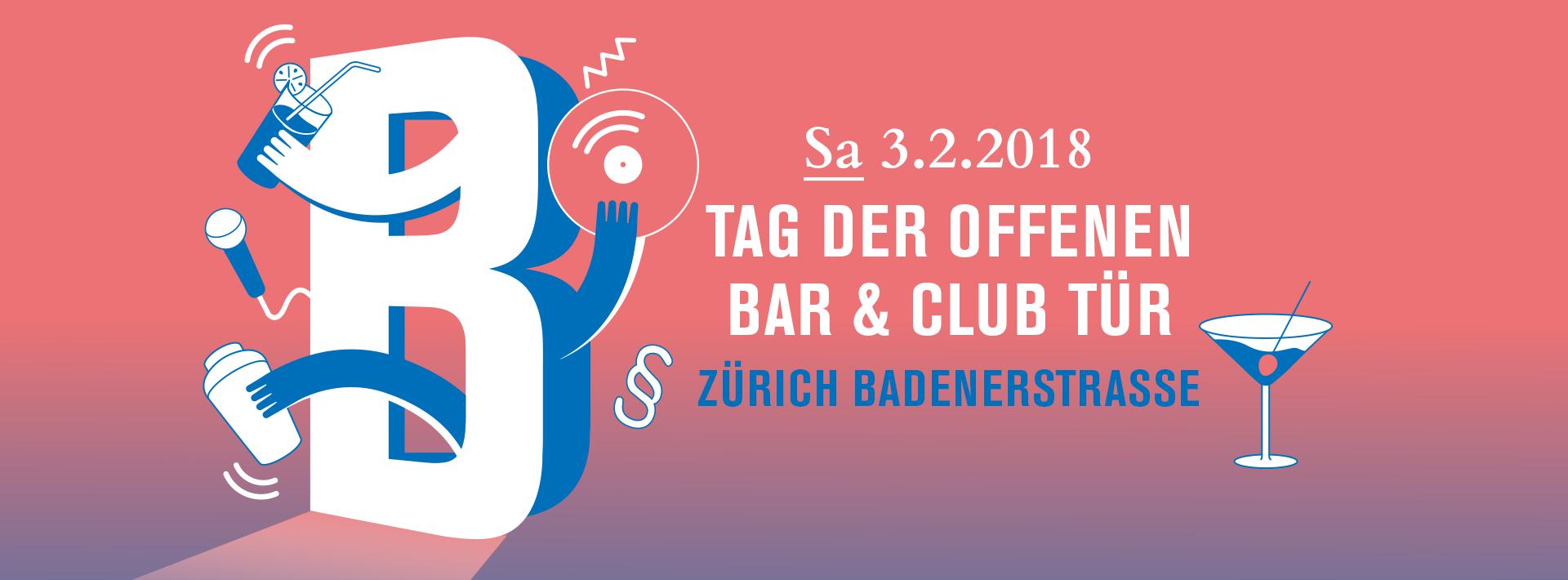 6. Tag der offenen Bar und Club Tür in Zürich/Badenerstrasse
