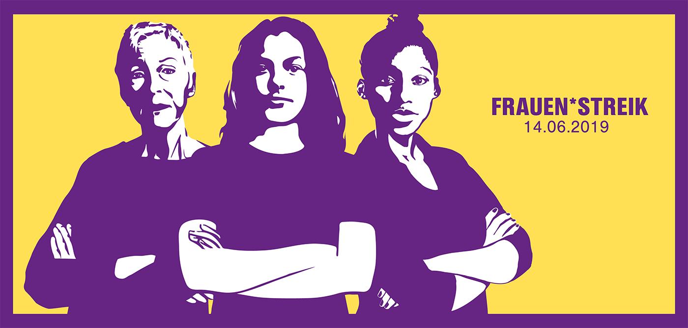 Die BCK unterstützt den Frauenstreik 2019